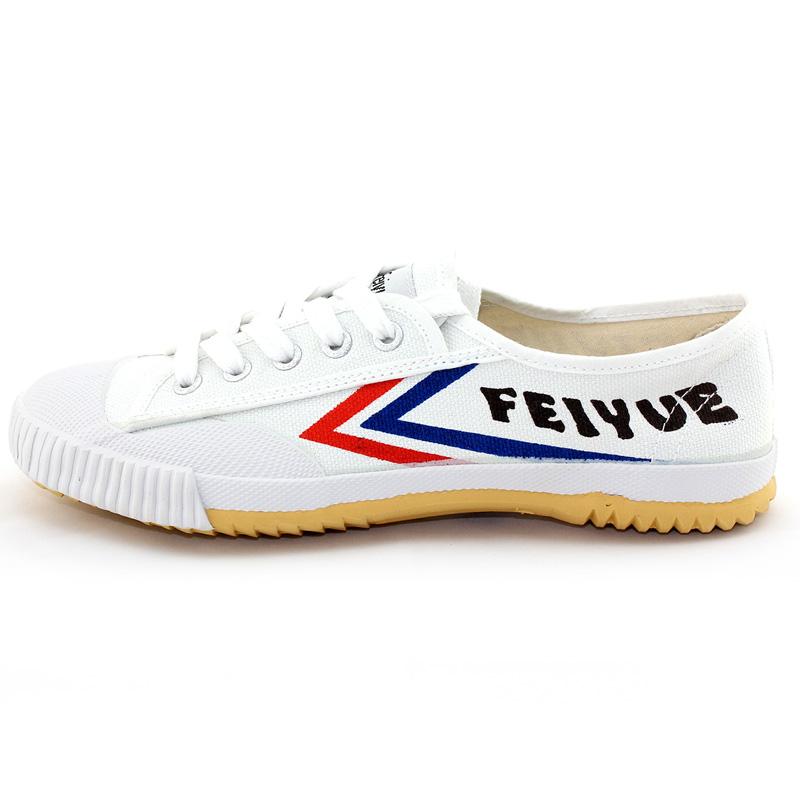 包邮正品飞跃经典复古款式低帮帆布鞋白球鞋运动鞋胶鞋中考专用鞋