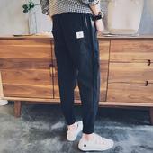 【2件装】哈伦裤男九分裤夏薄款宽松青少年束脚小脚休闲运动裤子