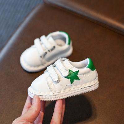 秋冬季宝宝鞋软底防滑婴儿学步鞋0-1一岁2-3幼儿小白鞋男女童棉鞋