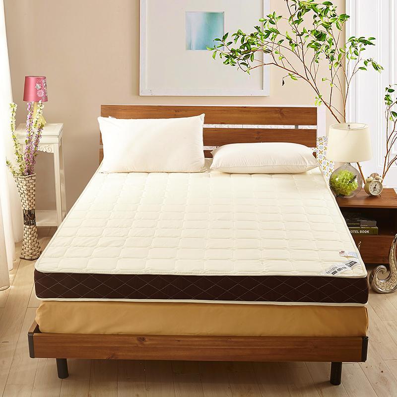 学生宿舍海绵垫被1.5单双人1.8m米1.2加厚记忆棉床垫榻榻米床褥子