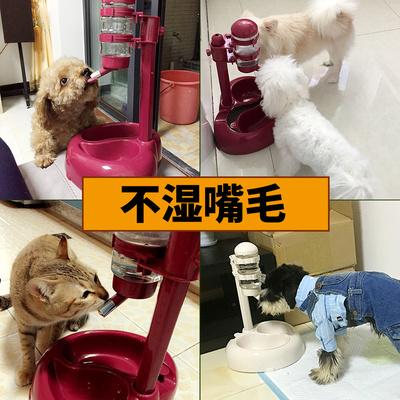 宠物饮水器狗狗饮水机自动挂式喂食喝水器狗食盆狗碗猫水碗狗水壶