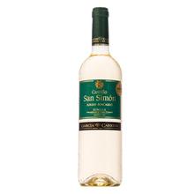 【天猫超市】西班牙原瓶进口红酒 西莫半干白葡萄酒单支750ml