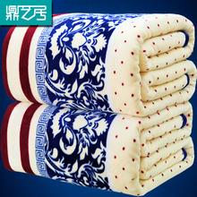 冬季法兰绒毛毯珊瑚绒毯法莱绒加厚保暖床单单件双人学生单人毯子