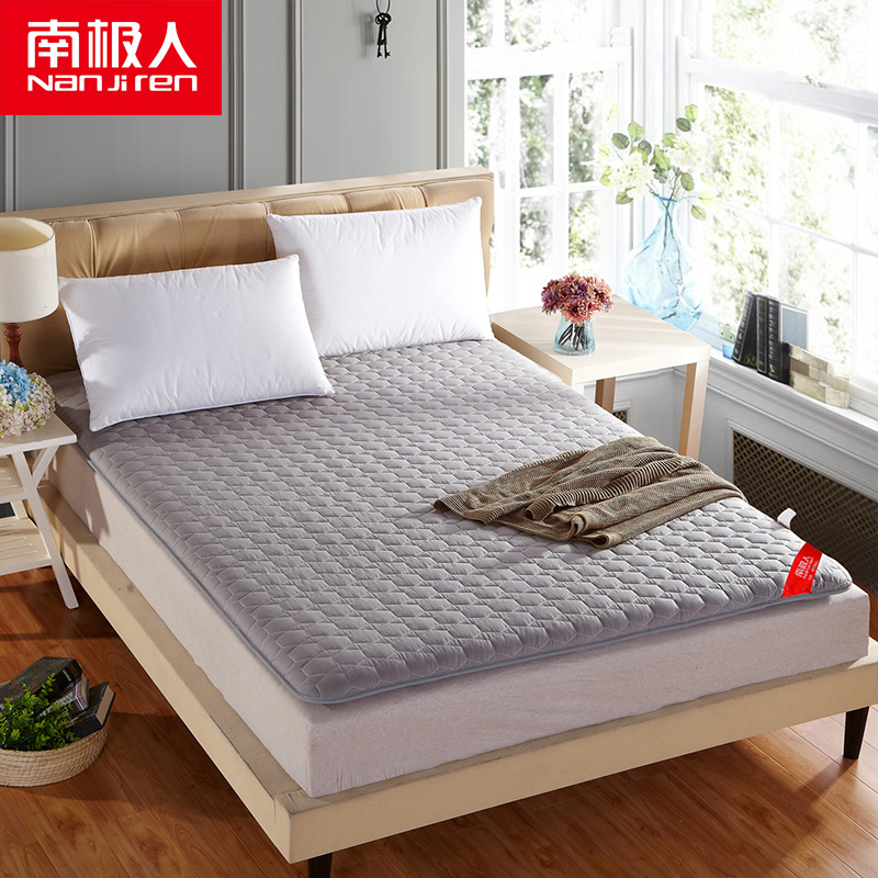 南极人家纺 全棉床垫床褥学生床褥子纯棉双人加厚榻榻米垫被