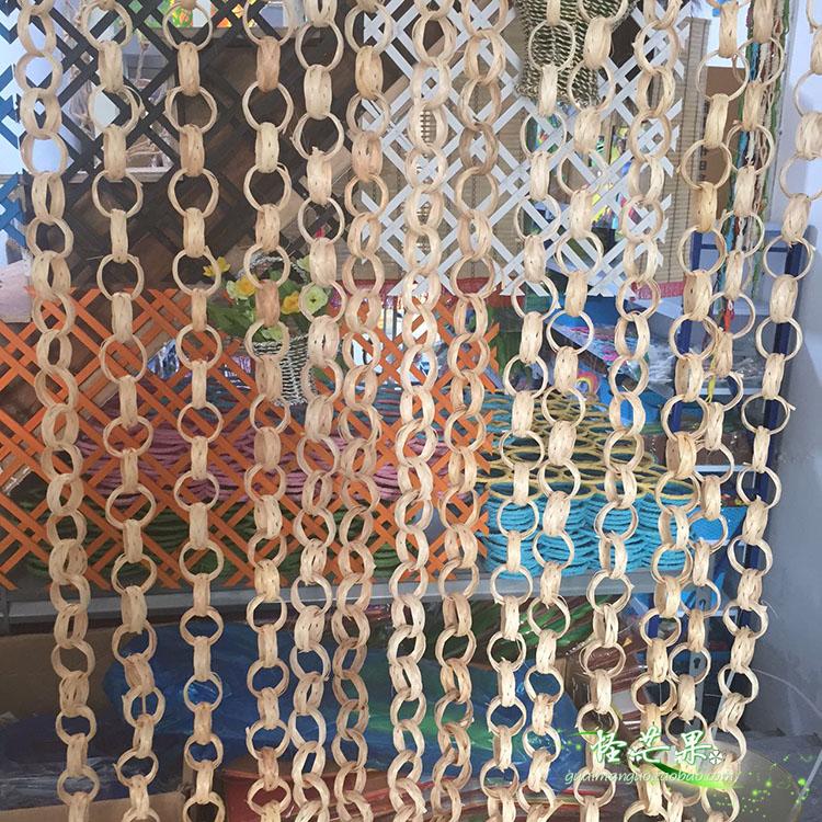 幼儿园农家乐装饰区角隔断悬挂展示幼儿作品