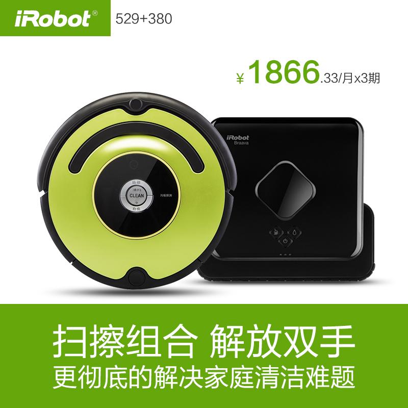iRobot美國掃擦好拍檔 掃地機器人拖地擦地家用全自動 吸塵器