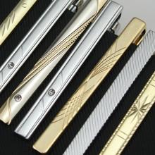 正装 金色银色领带夹 简约精品商务领夹礼 时尚 包邮 男士 礼盒装