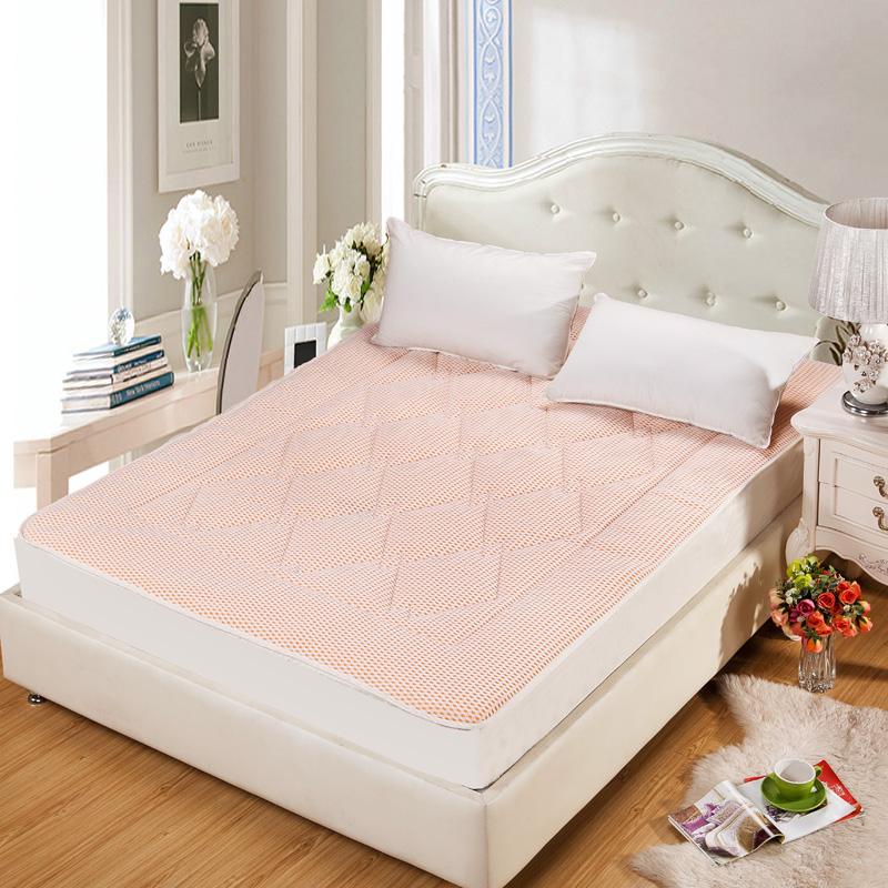 床罩 品牌上铺透气单件床笠床垫加宽纯色防滑