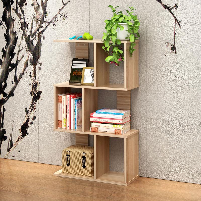 书桌书架组合多层花架阳台花架客厅置物架儿童小书架