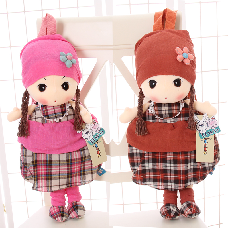 菲儿布娃娃幼儿园书包小班女童宝宝双肩包卡通背包