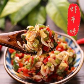 农家DIY自制小米虾干辣椒酱手工剁椒新鲜朝天椒线椒微中特辣拌饭