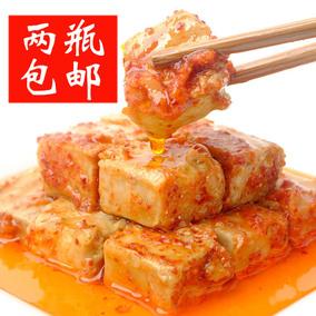 八公山豆腐乳  淮南毛豆腐 农家 霉豆腐 红油臭腐乳 香辣 豆腐乳