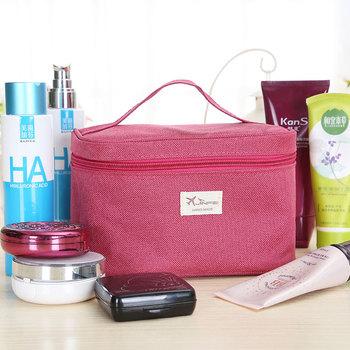 韩国大容量便携化妆包女士出差旅