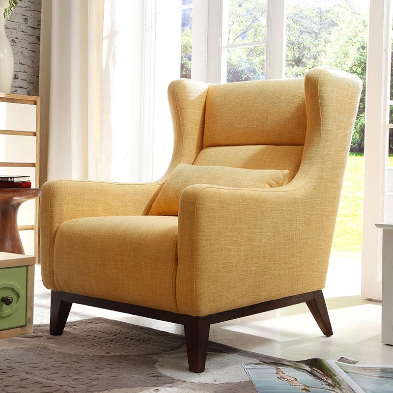 欧式布艺沙发简约现代