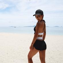上衣套装 健身房紧身运动露脐背心裤 健身服女 OceanMystery夏装
