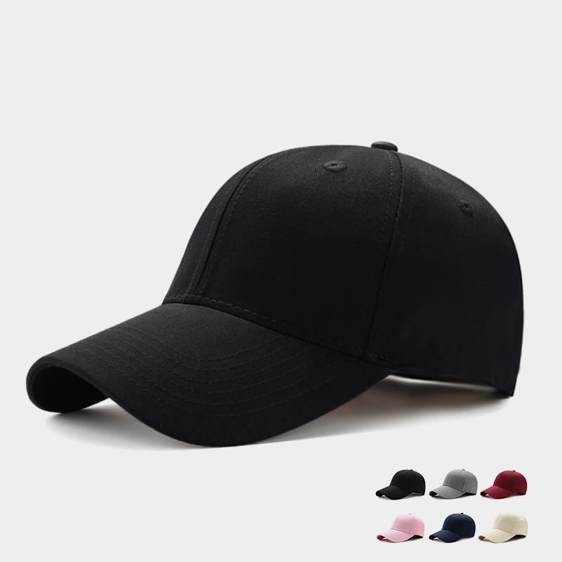 帽子男士夏天棒球帽休闲百搭款韩版潮鸭舌帽女潮遮阳帽防晒太阳帽