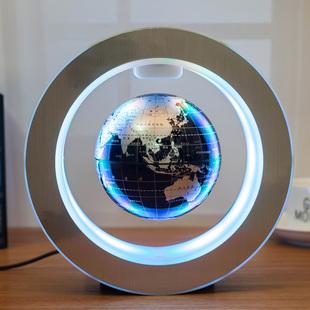 志诚发光自转磁悬浮地球仪办公室桌摆件公司创意礼品纪念生日生物