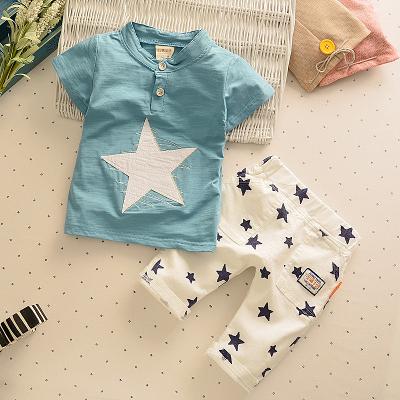 兩件套夏裝夏季短袖男童套裝嬰幼兒寶寶兒童