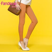 安莉芳旗下芬狄诗女士时尚外穿打底裤舒适弹力保暖裤女士FF0031图片