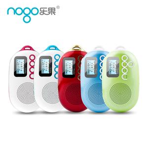 乐果Q12插卡音箱迷你小音响可爱便携式MP3播放器外放随身听收音机