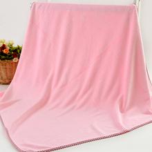 新生婴儿浴巾宝宝加厚盖毯比纯棉纱布更吸水儿童毛巾被加大加厚