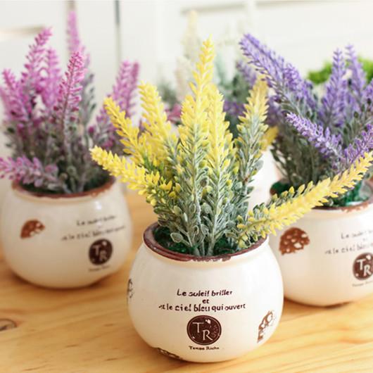 家居客厅咖啡馆网咖植物软装饰品摆设