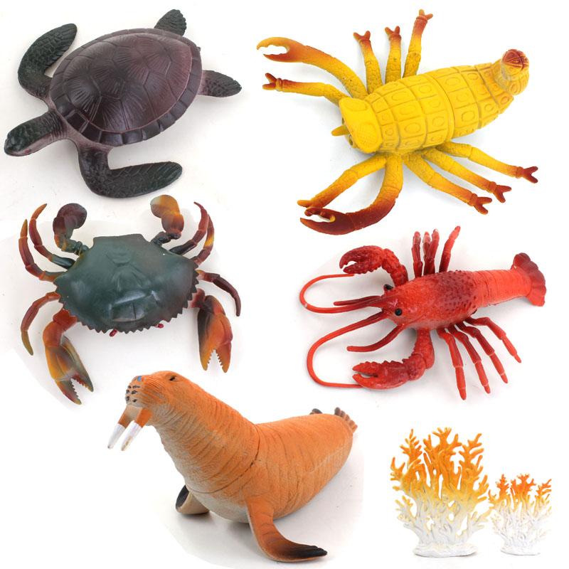 海洋动物模型儿童玩具5件套装