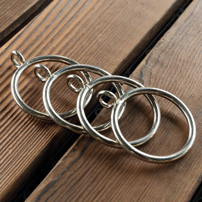 不锈款窗帘挂环罗马杆环圈环窗帘扣金属挂钩吊环套环配件辅料