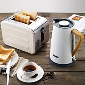 多功能烤面包机家用全自动早餐机多士炉不锈钢吐司机套装 思迪乐