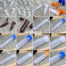 塑料离心管螺口尖底圆底试管ep管pcr管1.5ml2ml5ml10ml15ml50ml