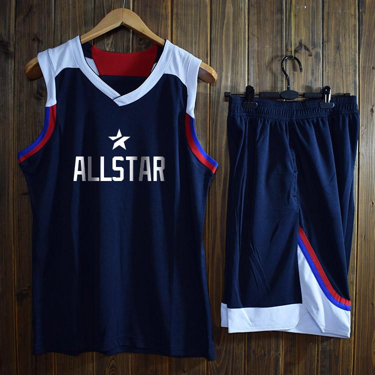 球衣全明星比赛队服篮球服定制面料透气个性
