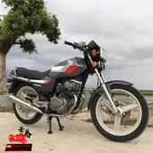 本田CBT男装 骑式跨式双排气摩托车 二手本田双缸125CC摩托车原装