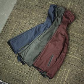 你没见过的软壳衣 针织软壳 户外抓绒卫衣 防风运动外套 男