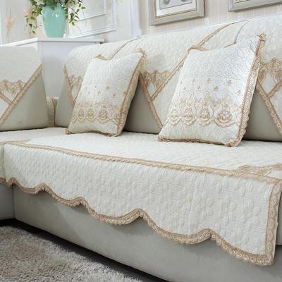 寒号鸟四季全棉沙发垫布艺纯棉防滑简约现代冬季通用沙发巾套定做