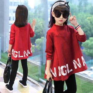 12春秋女童装中小学生11运动服装长袖套装夏季10大女孩子13到15岁