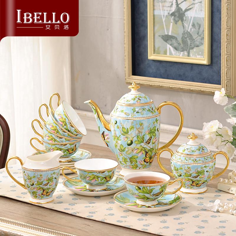 陶瓷咖啡具套装欧式茶具英式下午茶茶具茶壶茶杯咖啡