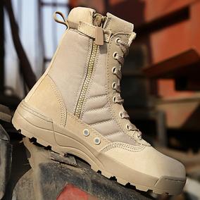 511美军军靴男特种兵军鞋 户外登山靴陆战靴高帮战术07作战靴透气