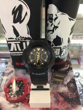 卡西欧手表g-shock运动男awg-m510sbg-1光动能电波专柜正品casio