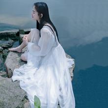 韩版 仙气长裙森女学生复古森系甜美雪纺连衣裙仙女裙 夏季2017新款