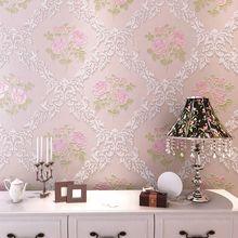 百搭款 包邮 无纺布壁纸田园墙纸客厅欧式壁纸 壁纸卧室墙纸温馨