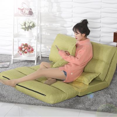 日式懒人沙发床折叠榻榻米床单双人沙发椅卧室客厅