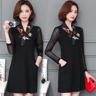 天天特价新款30-35-40岁中年少妇女装妈妈装春款裙子职业连衣裙