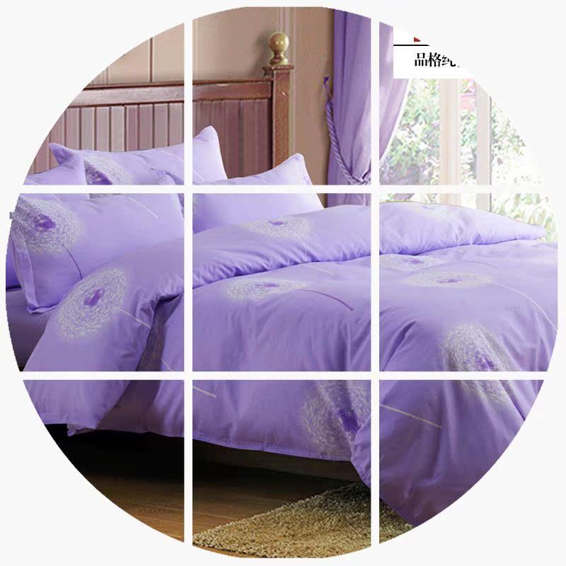 全棉新款四件套特价1.8m1.5m床双人家纺纯棉床单被罩