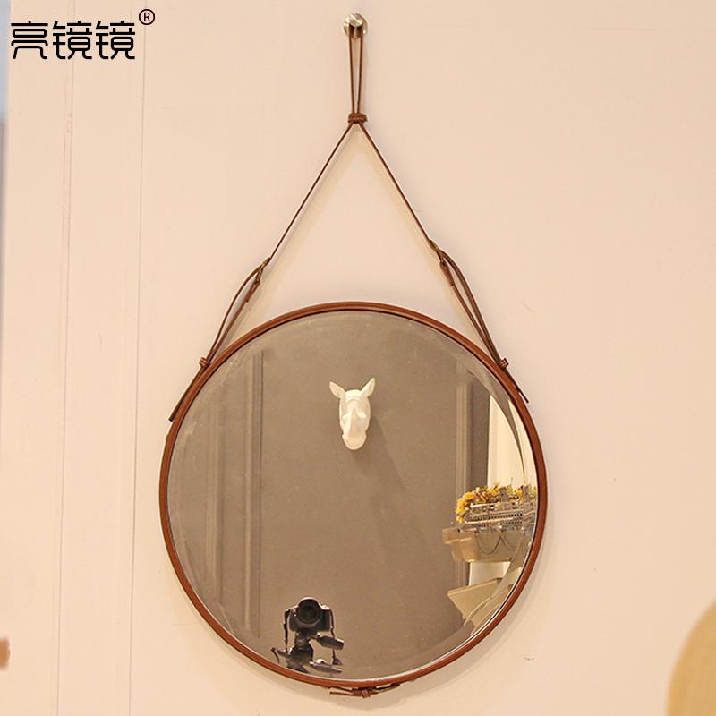 简约背景墙装饰镜子 壁挂欧式