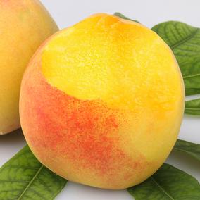 【现货应季】正宗新鲜黄桃水果脆甜5斤装水蜜桃锦绣桃子毛桃包邮
