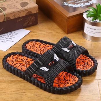 夏天韩版男士拖鞋居家浴室防滑拖鞋情侣塑料凉拖鞋家居室内一字拖