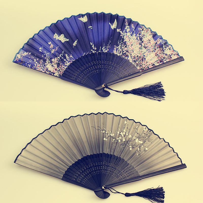 女式中国日式可扇扇子古风和风扇扇夏季