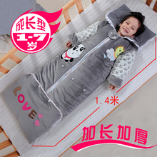 7岁中大童防踢被神器 儿童睡袋1秋冬季2加厚款 3纯棉4宝宝5可拆袖