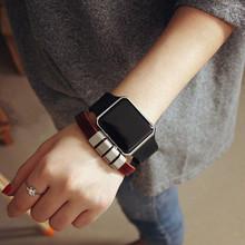 韩国学生情侣电子表 夜光方形LED手环手表韩版智能触屏情侣腕表