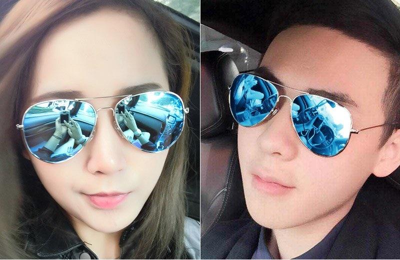 陌生太阳镜方形男偏光女韩版时尚潮眼镜驾驶开车司机墨镜个姓潮人